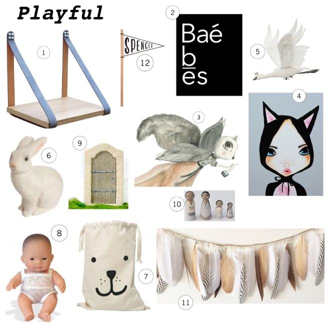Board playful
